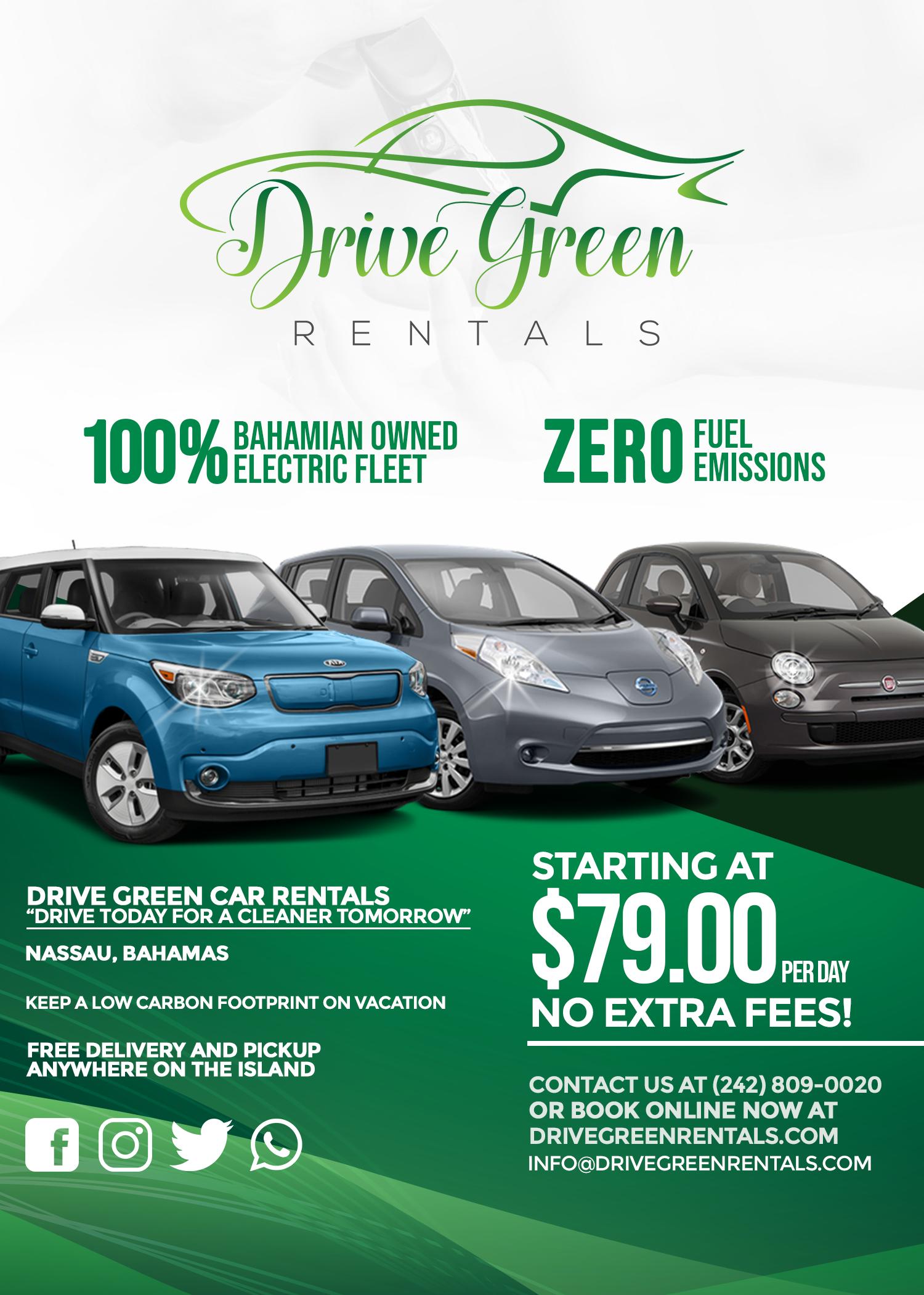 Drive Green Rentals Flyer V2